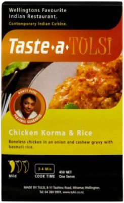 Chicken Korma & Rice