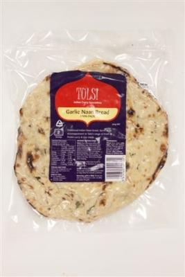 Chilled Garlic Naan Bread Twin Pack